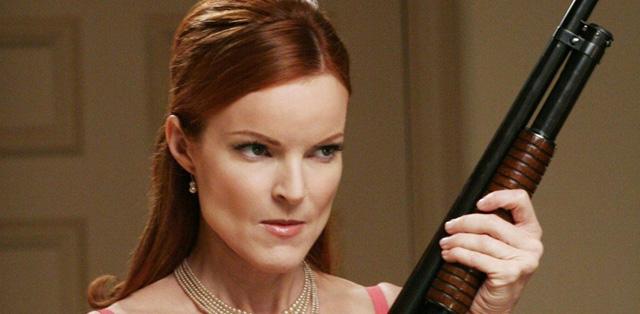 Comment se débarrasser de sa belle-mère Bree Van De Kamp avec un fusil