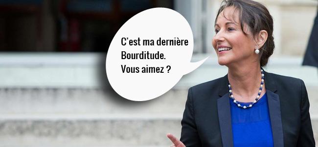 Ségolène Royal Bourtitude