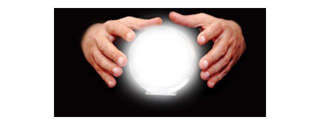 Boule pour lire l'avenir l'effet Barnum