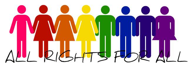 Gay pride slogan en anglais