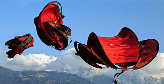 Lancé de tente quechua