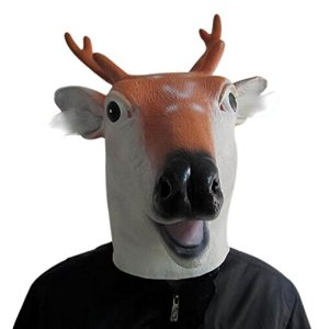 Masque tête de cerf