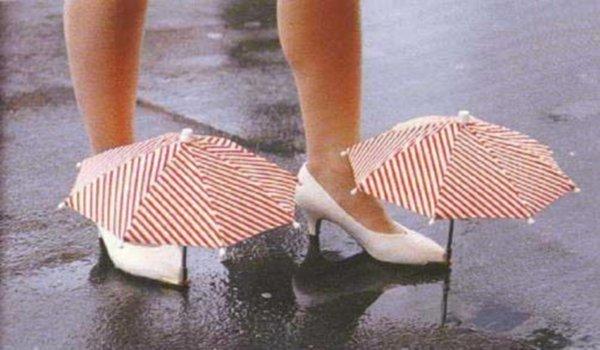 Parapluie pour pied