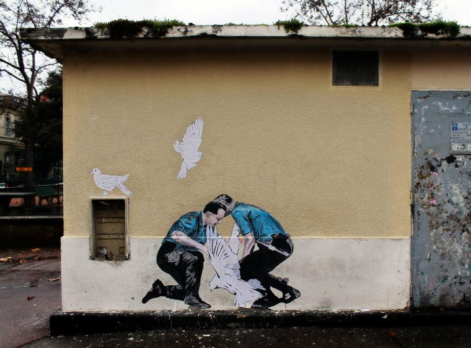 Don Matéo Gardien de la paix !!! – à boulevard de la croix rousse, lyon.