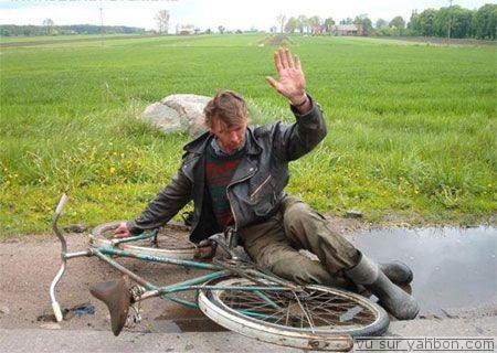 être bourré et faire du vélo accident