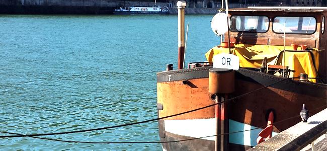 Photo bateau sur la Saône