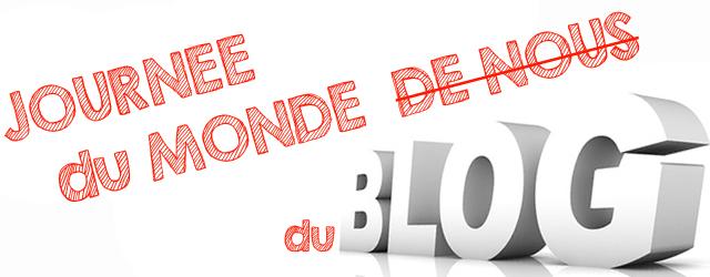 bannière journée mondiale du blog