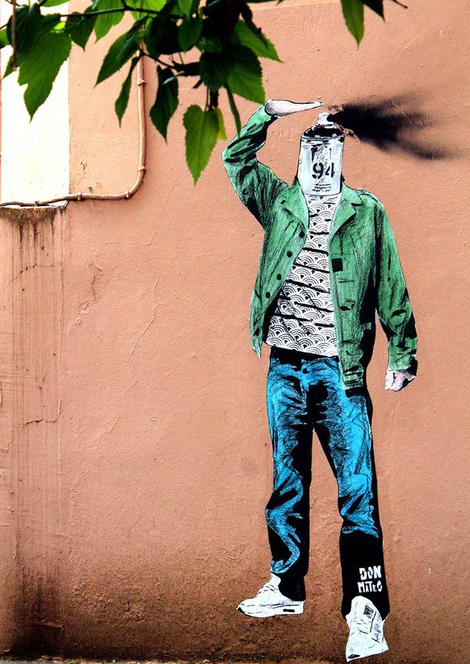 Don matéo L'art de se vider la tête - Place Gerson à Lyon