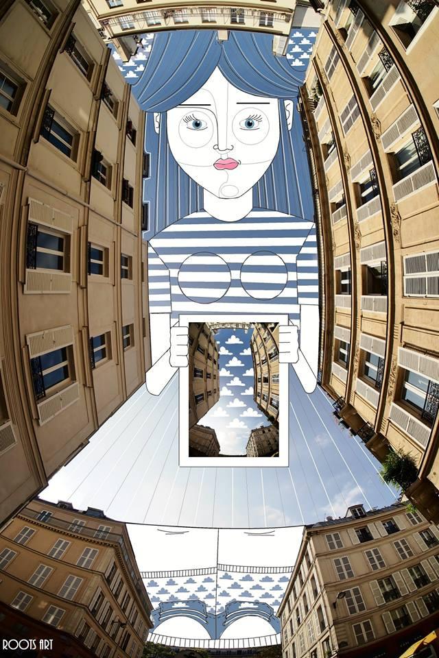 Thomas Lamadieu Dans le Ciel de Paris