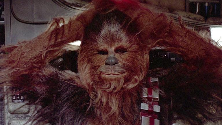 Chewie star wars
