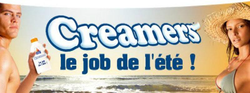 Creamers le job de l'été