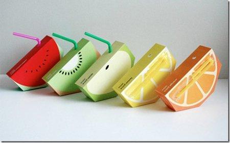 jus de fuit packaging inventif