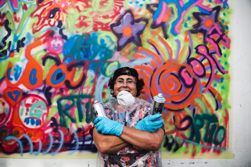 Mami graffeuse Lata65