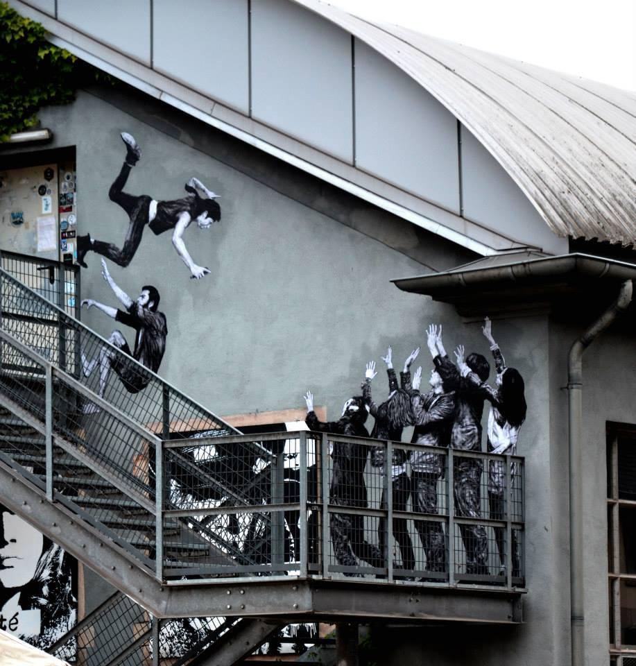 Levalet - Le grand saut -KULTURFABRIK - LUXEMBOURG - MAT VAN RAY