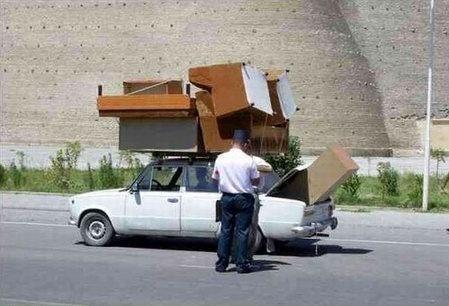 voiture meuble sortie d'ikea