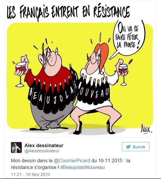 Humour après les attentats Paris