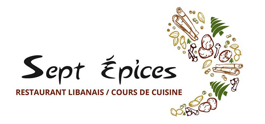 Logo sept épices restaurant Libanais