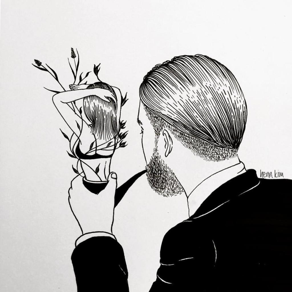 A man in love - Henn kim