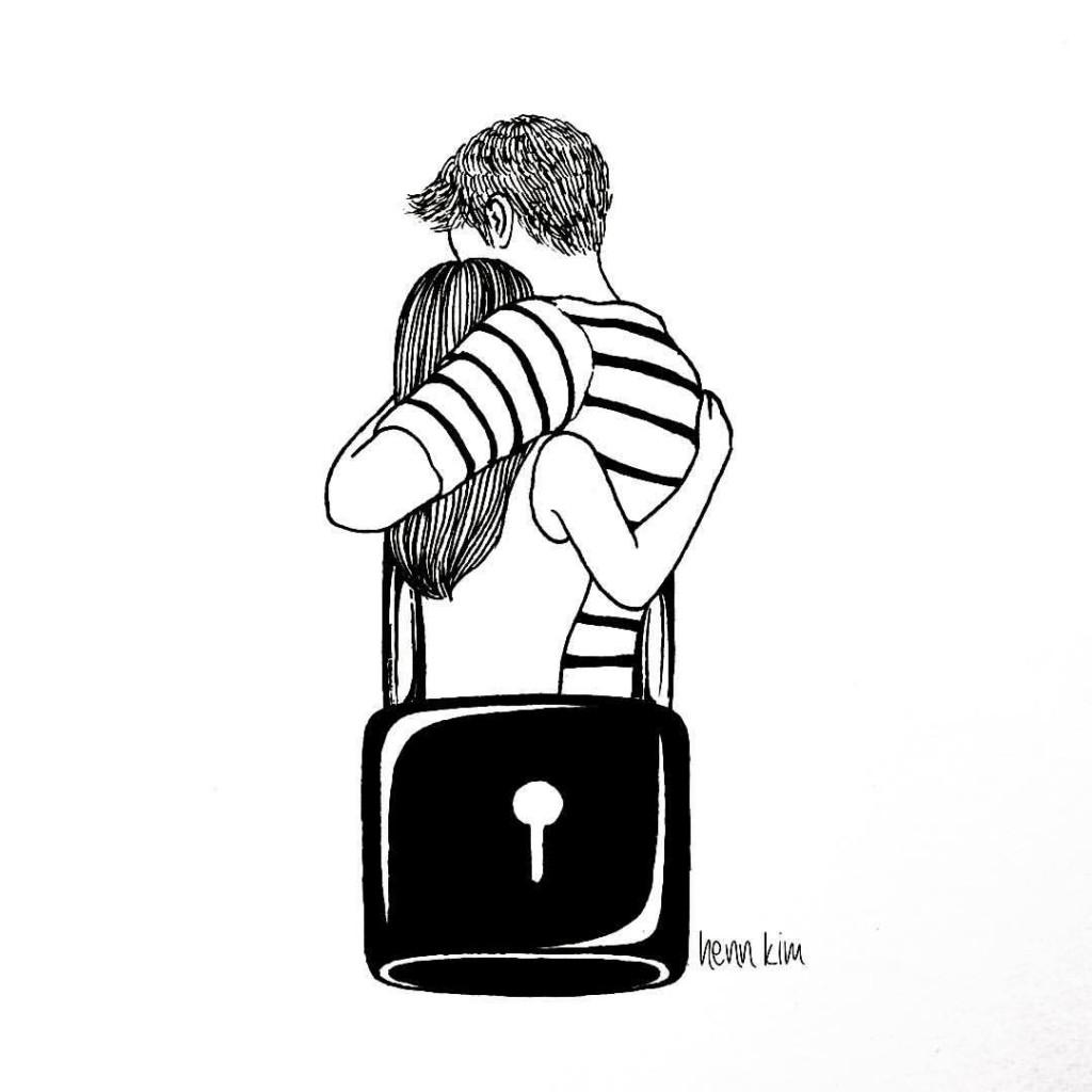I lock with you - Henn Kim