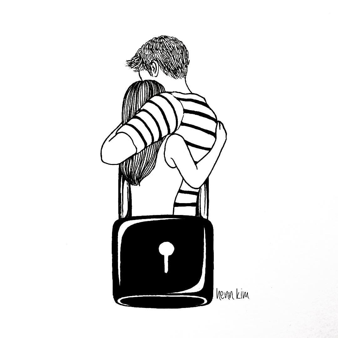 I lock with you - Henn Kim