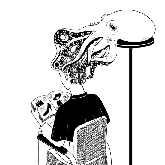 Octopus Salon by Henn Kim