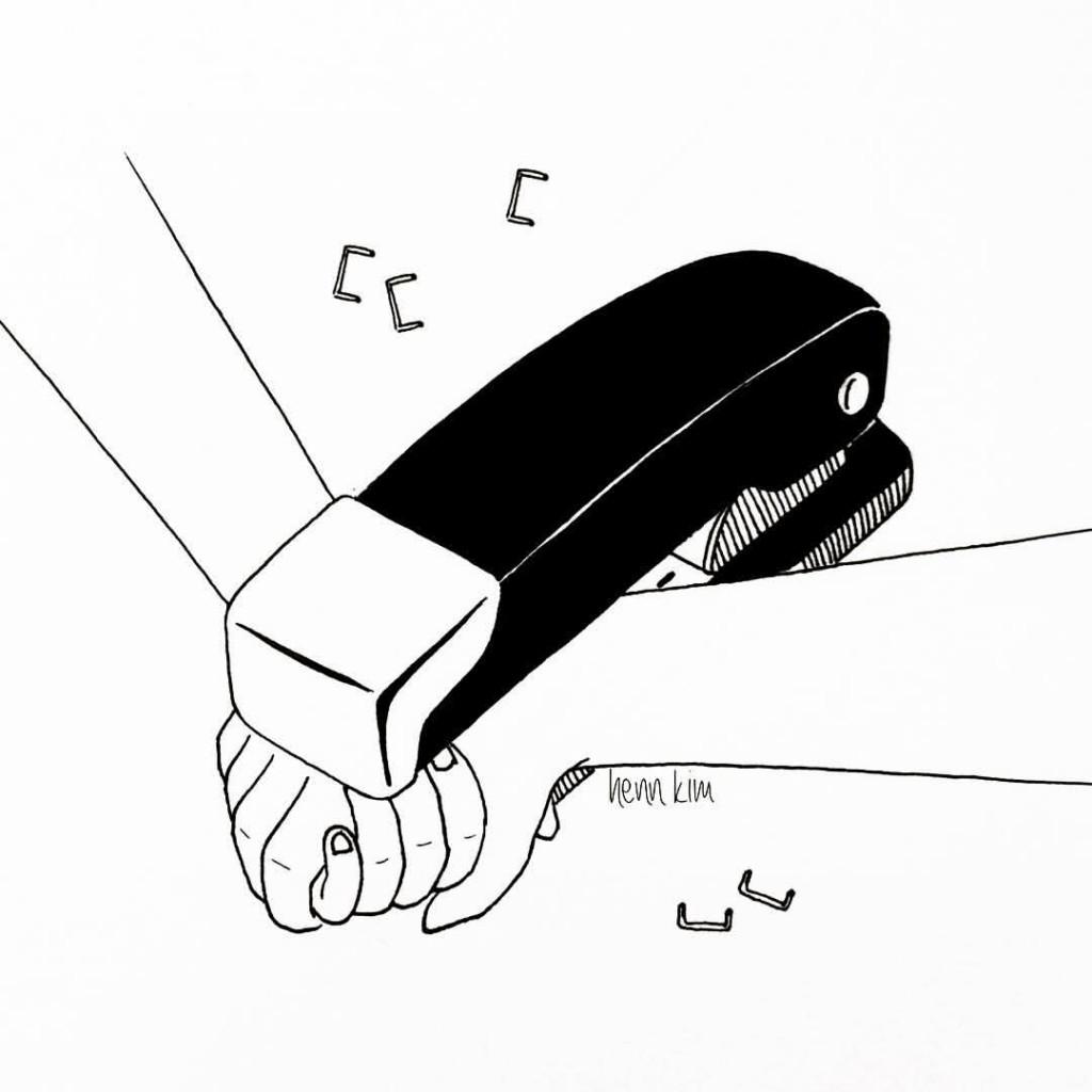 never let me go by henn kim
