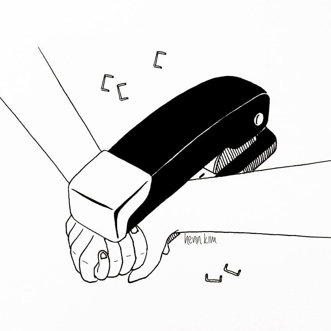 never let me go by henn kim