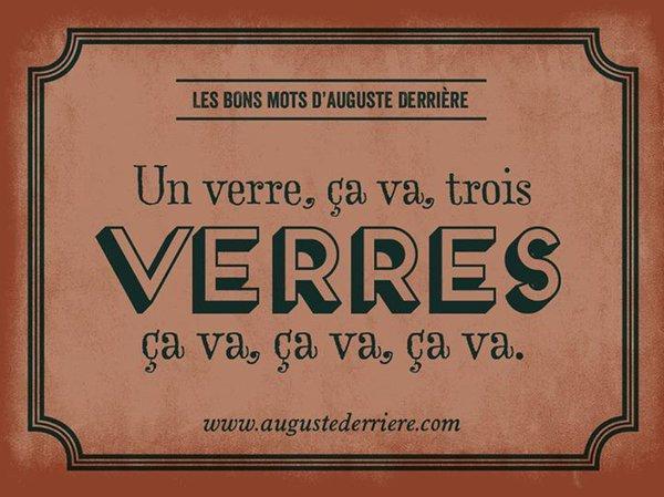 Les jeux de mots d'Auguste Derrière