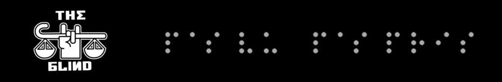 Logo the Blind en visuel et braille